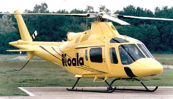 Agusta A-119 Koala, pictures, technical data, history ...