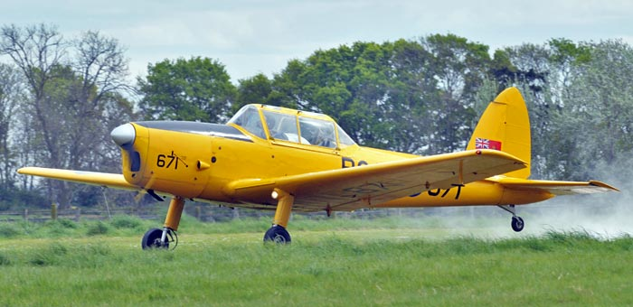 De Havilland Canada DHC-1 Chipmunk #7