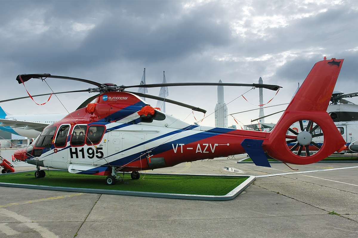 Eurocopter AS-365N Dauphin 2 & EC-155 #3