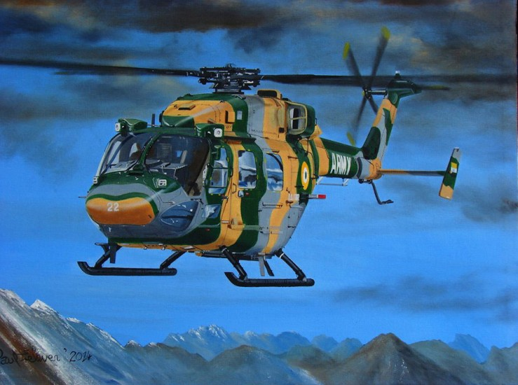 Hindustan Advanced Light Helicopter #2
