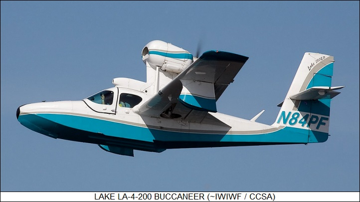 Lake LA4, Buccaneer & Renegade #8