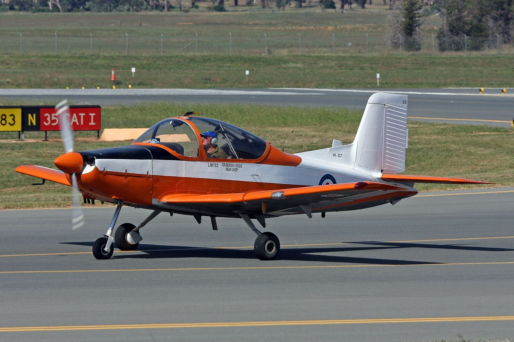 Pacific Aerospace CT-4 Airtrainer next
