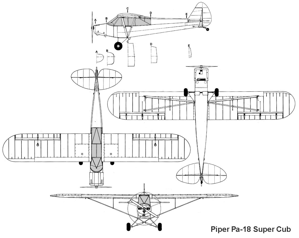 Piper PA-18 Super Cub next