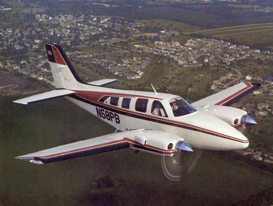 Raytheon Beechcraft Baron #1