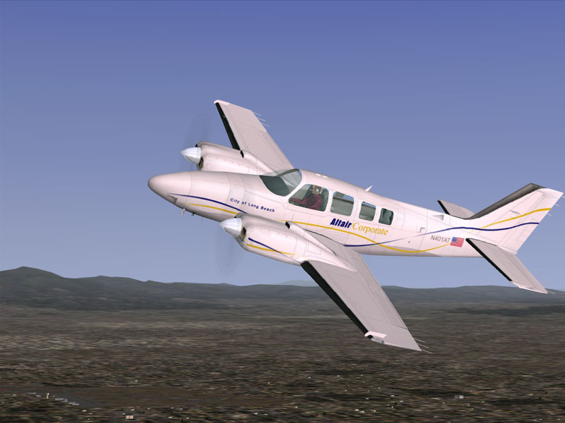 Raytheon Beechcraft Baron #6