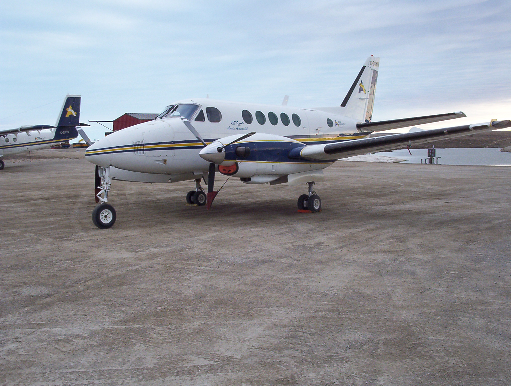 Raytheon Beechcraft King Air 200 next