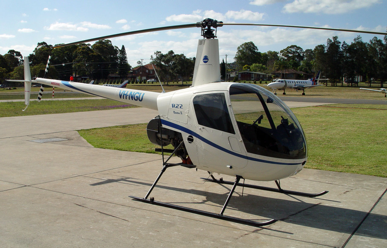 Robinson R22 previous