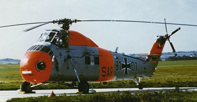 Sikorsky S58 previous