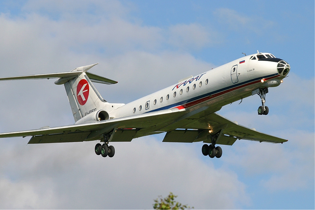 Tupolev Tu-134 previous