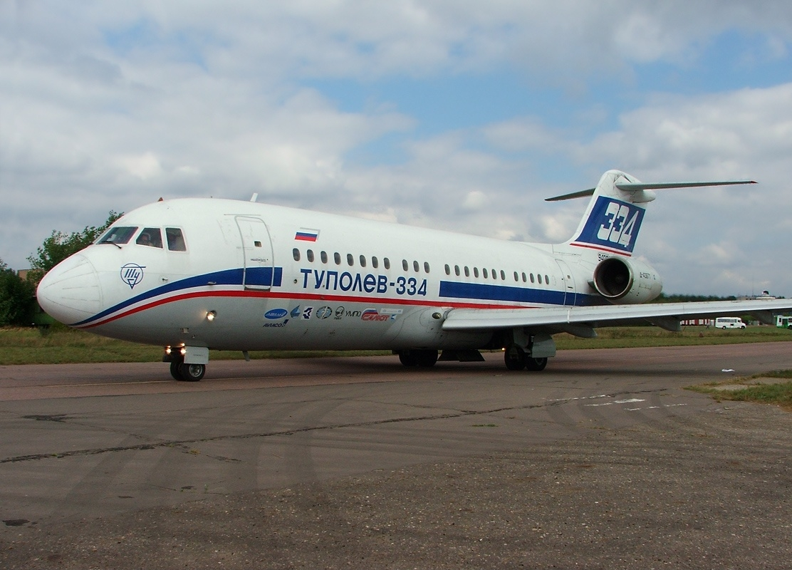 Tupolev Tu-334 previous
