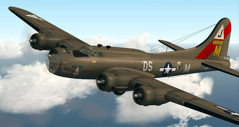 Boeing B-17 Flying Fortress #6