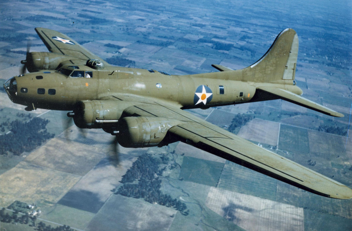 Boeing B-17 Flying Fortress #8