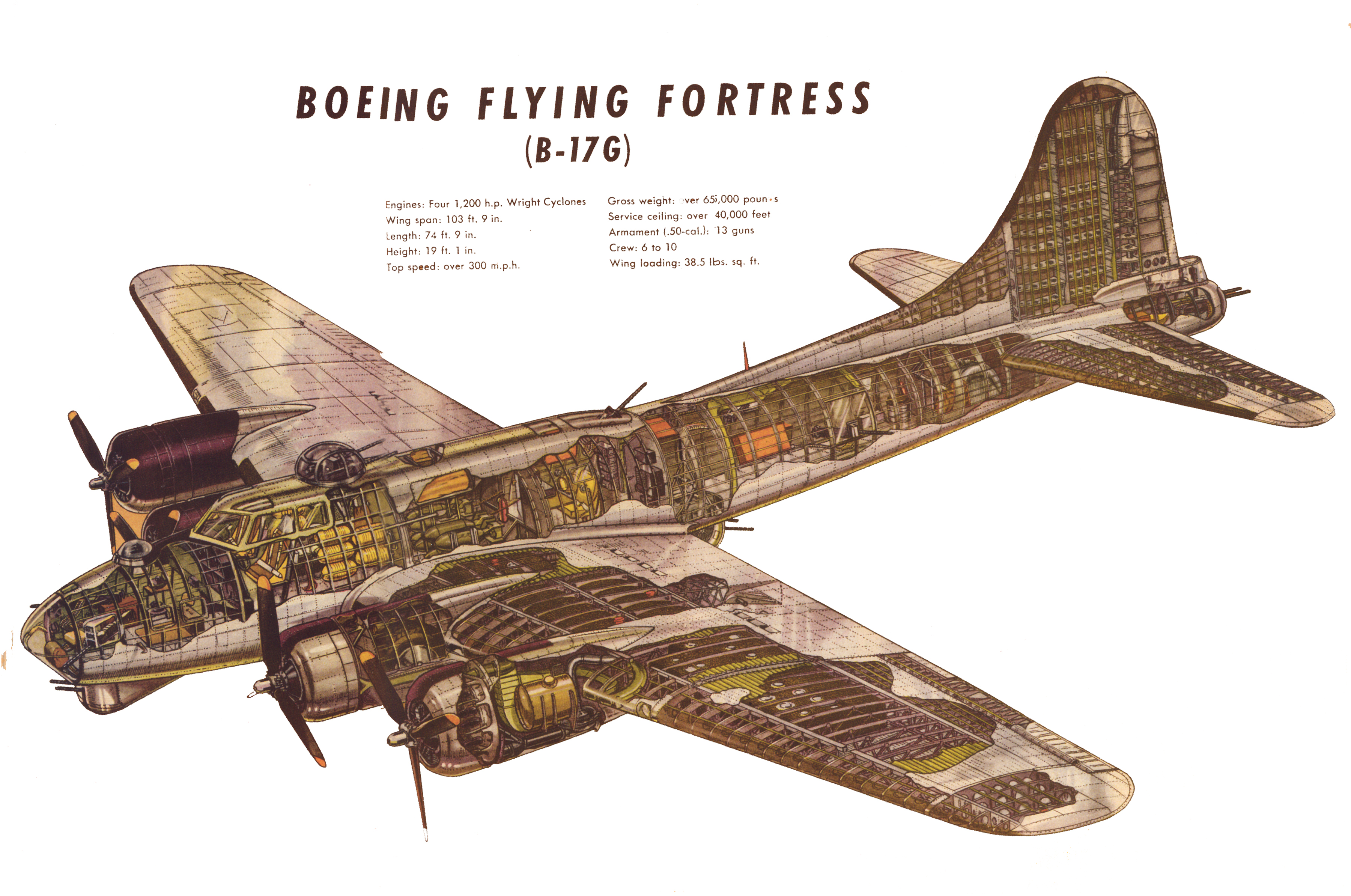 Boeing B-17 Flying Fortress #9