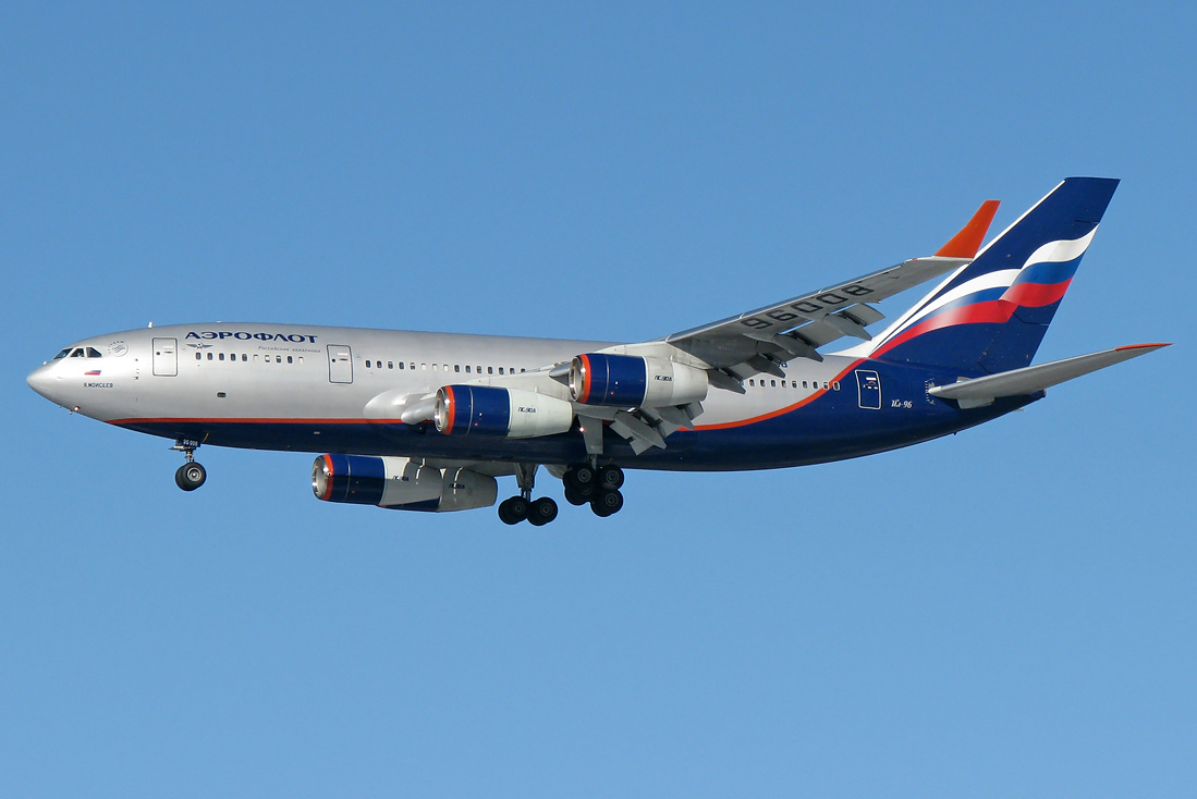 Ilyushin Il-96-300 previous