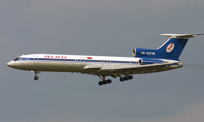 Tupolev Tu-154 previous